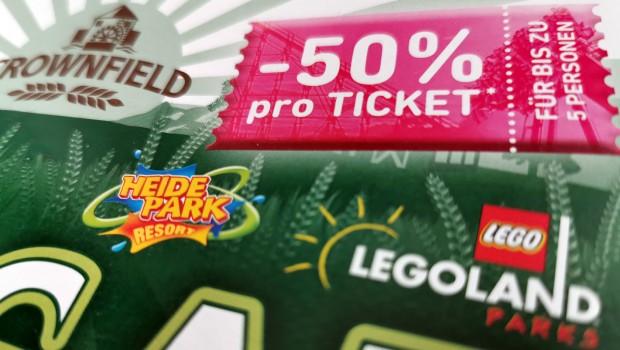 Crownfield Cornflakes Ticket-Gutschein Freizeitparks 2019
