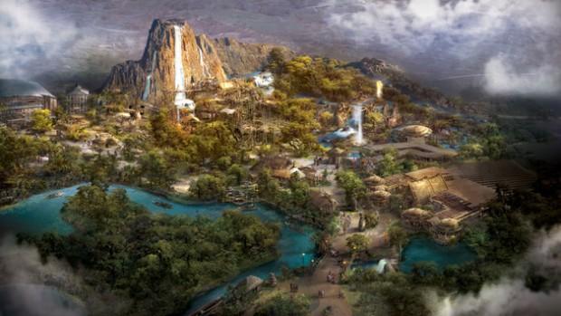 Disneyland Shanghai Adventure Isle