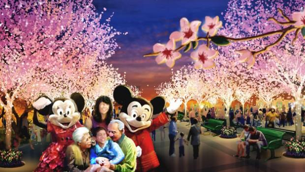 Disneyland Shanghai Gardens of Imagination