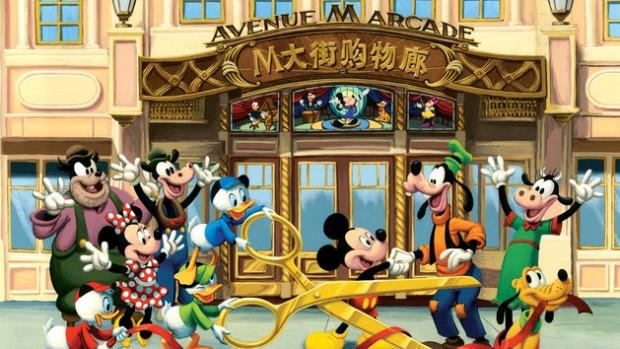 Disneyland Shanghai Mickey Avenue