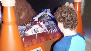 """""""Star Wars Episode II"""" aus LEGO jetzt als neue Ausstellung 2016 im Oberhausener LEGOLAND Discovery Centre eröffnet"""