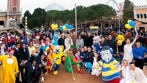 Europa-Park Saisonstart 2016 mit Familie Mack