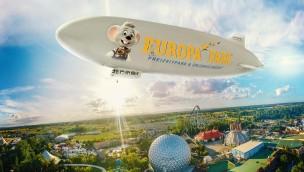 Europa-Park-Zeppelin hebt auch 2018 ab: Mit dem Luftschiff über Deutschlands größten Freizeitpark