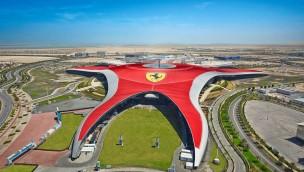 Ferrari World Abu Dhabi - Luftnaufnahme