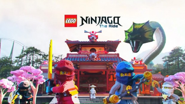LEGOLAND - Ninjago The Ride Promo