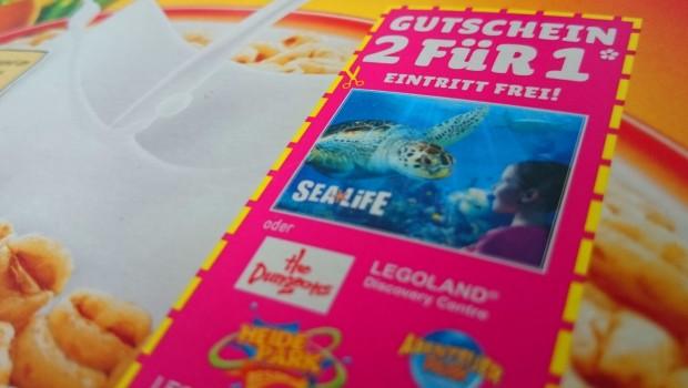 LIDL-Cornflakes mit Freizeitpark-Gutscheinen für 2016