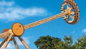 """Papéa Parc eröffnet 2016 """"Le Cyclone"""": Typhoon 360 von Technical Park"""