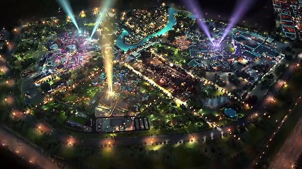 Legoland Dubai, Motiongate Dubai und Bollywood Parks Dubai (Foto: Dubai Parks & Resorts)