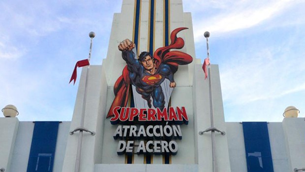 Parque Warner Superman