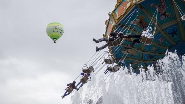 Phantasialand-Heißluftballon