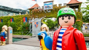 PLAYMOBIL-FunPark eröffnet 2016 neues Riesen-Hüpfkissen und Trampoline im Aktivpark