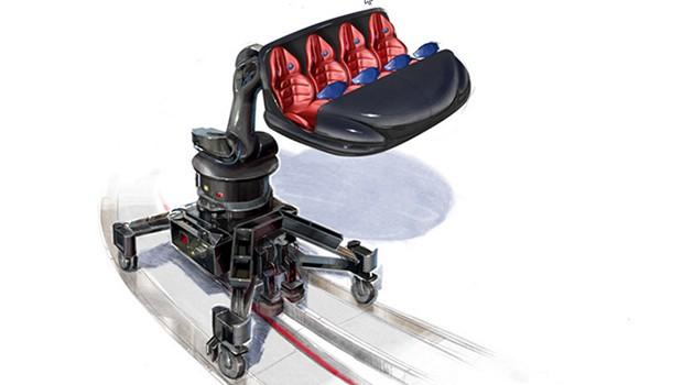 Robotic Arm Ride