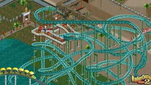 RollerCoaster Tycoon 2 Screenshot