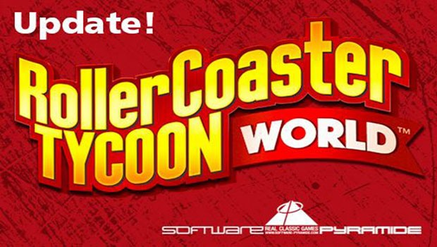 RollerCoaster Tycoon World Update