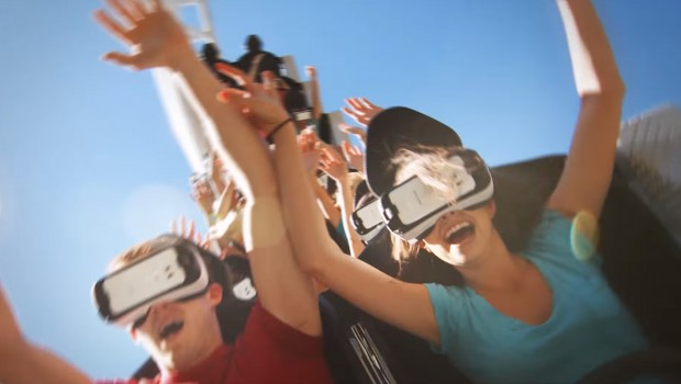 Six Flags Virtual Reality Coaster New Revolution