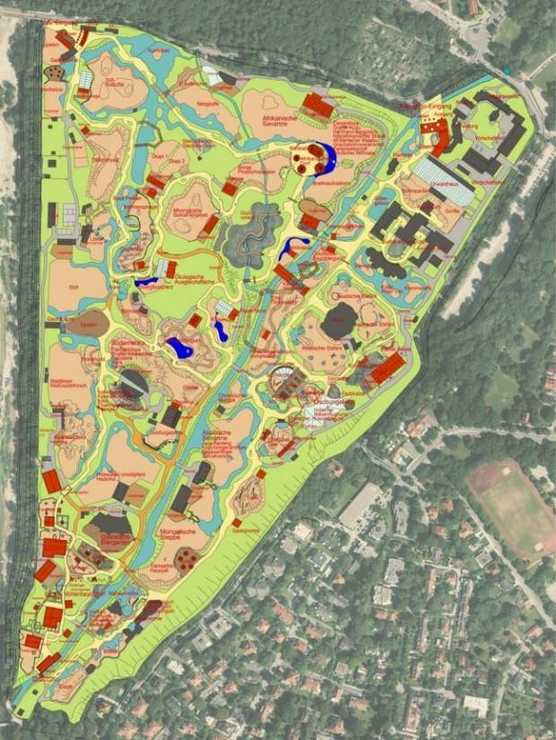 Tierpark Hellabrunn - Masterplan Konzept