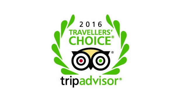 Travellers' Choice Award 2016