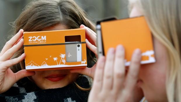 VR-Brille - ZOOM Erlebniswelt