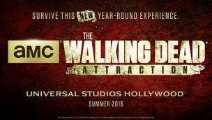 "Die untoten Beißer aus ""The Walking Dead"" erobern 2016 die Universal Studios Hollywood"