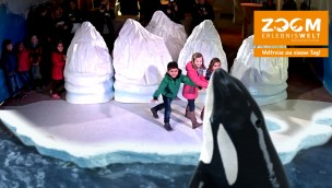 "ZOOM Erlebniswelt feiert 2016 dank ""Frozen Planet"" Besucherrekord zum Saisonstart"