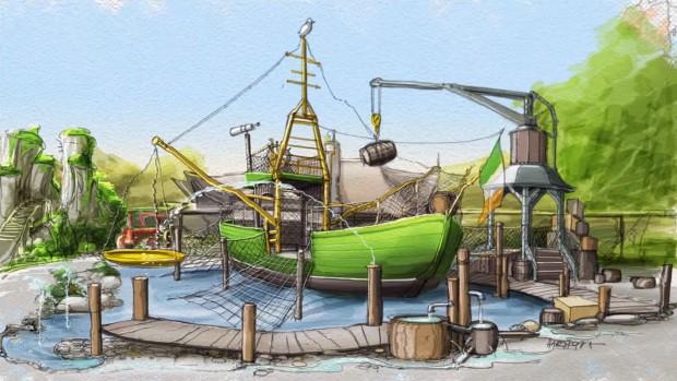 """Abenteuerspielplatz in """"Irland"""" im Europa-Park"""