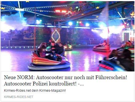 Autoscooter Führerschein News