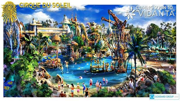 Cirque du Soleil Wasserpark