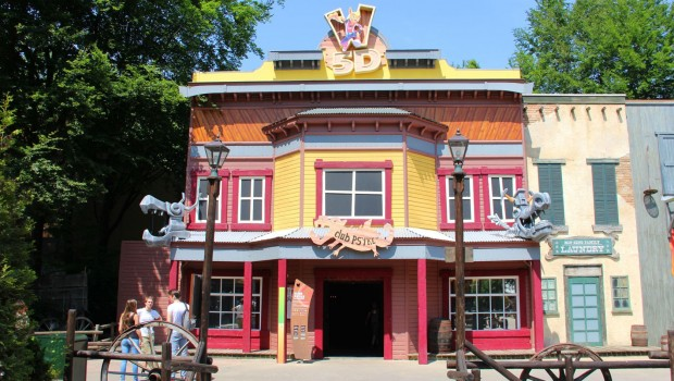 Club Psyke in Walibi Holland