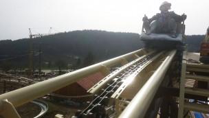 """Schienenschluss bei """"Da voglwuide Sepp"""": Achterbahn in St. Englmar nähert sich Eröffnung"""