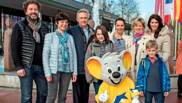 Désirée Nosbusch mit SOS Kinderdorf zu Besuch im Europa-Park