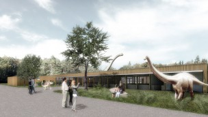 """Bayerischer """"Jurassic Park"""" entsteht: Dinosaurier-Park Altmühltal eröffnet 2016 in Denkendorf"""