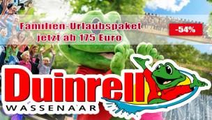 Duinrell mit Übernachtung im Ferienpark - Angebot 04/2016