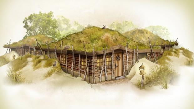 Efteling Loonsche Land - Skizze - Düne Ferienhaus