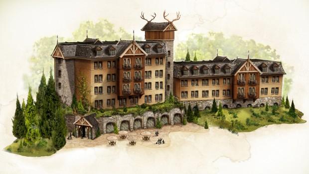 Efteling Loonsche Land - Skizze - Hotel