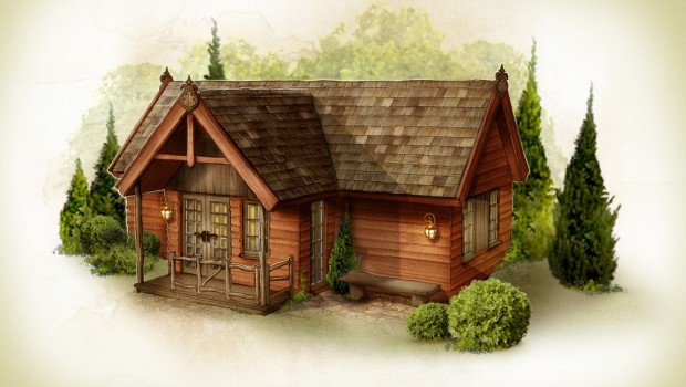 Efteling Loonsche Land - Skizze - Wald Ferienhaus