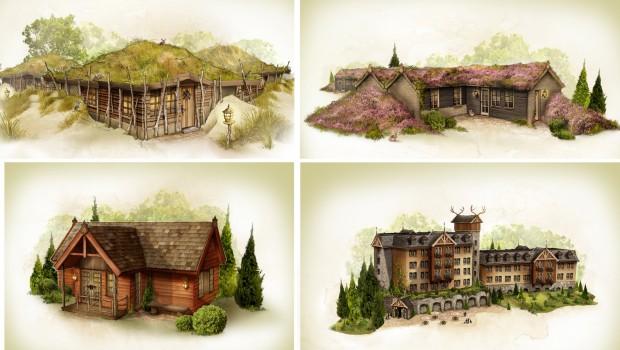 Efteling Loonsche Land - Skizzen