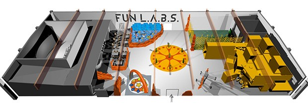 Fort Fun L.A.B.S. Grafik