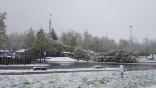 Freizeit-Land Geiselwind wegen Schnee 2016 bis 29. April geschlossen