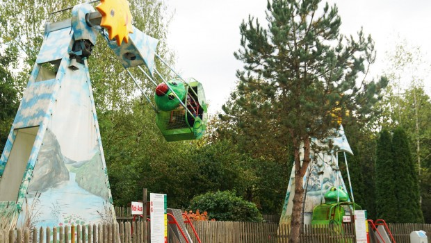 Froschpendel im Bayern-Park