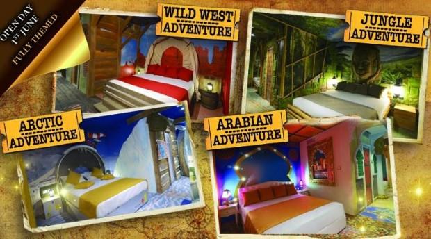 Gardaland Adventure Hotel-Zimmer - Überblick