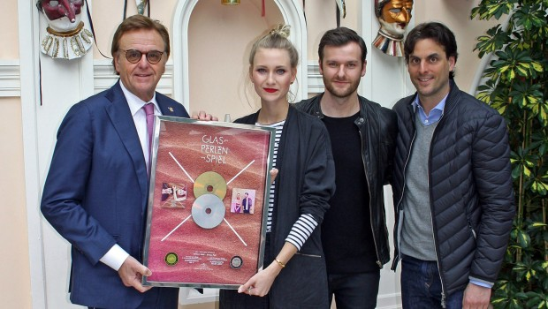 Glasperlenspiel - Platin für Geiles Leben - Award für Europa-Park