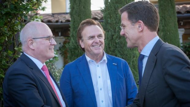 Klausurtagung der großen Koalition 2016 im Europa-Park