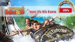 Avonturenpark Hellendoorn-Tickets günstiger sichern: aktuelles Angebot mit 25% Rabatt!