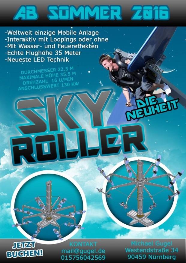 Gugel Sky Roller auf der Kirmes