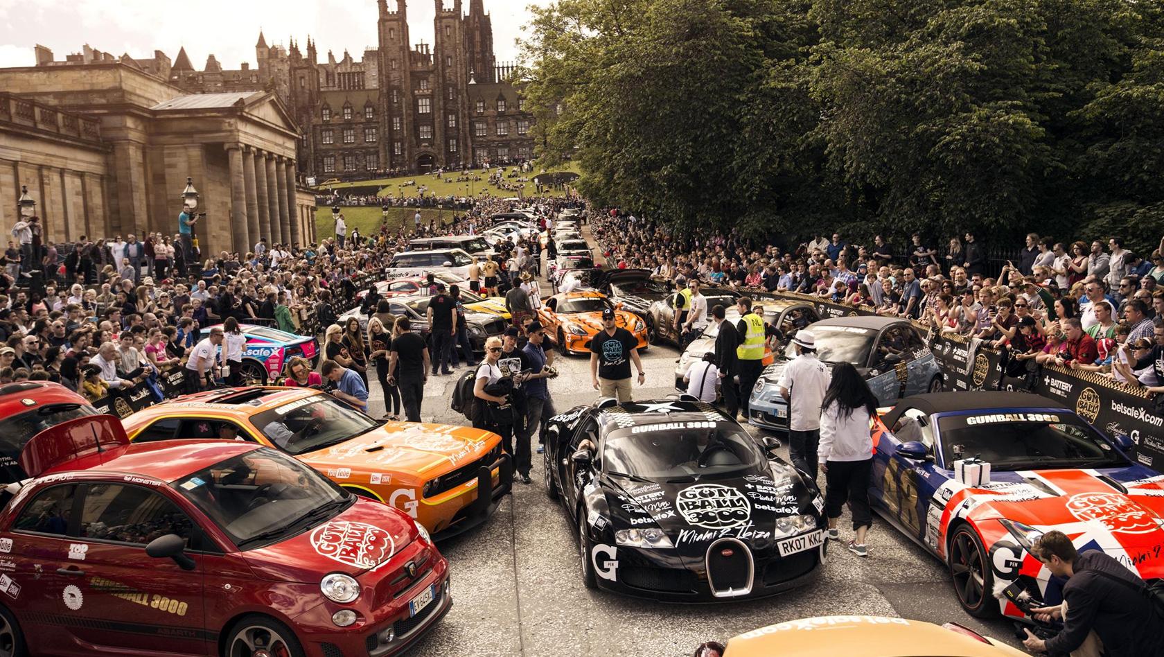 auto show gumball 3000 macht 2016 halt im europa park