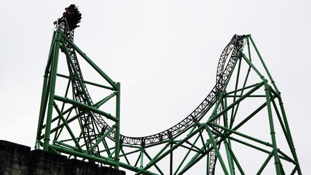 Hansa-Park - KÄRNAN-Herzelement über Turm