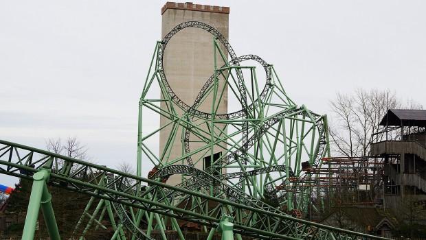 Hansa-Park - KÄRNAN - Blick auf den Turm - März 2016