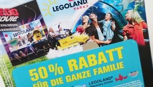 """""""Happy Meal"""" 2016 mit Freizeitpark-Gutscheinen: 50% Rabatt für LEGOLAND, Heide Park und Co."""