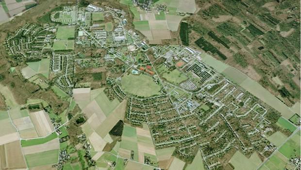 JHQ Rheindahlen Google Maps