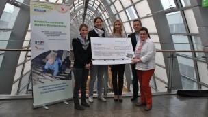 Kinderturn-Welt im Zoo Karlsruhe erhält Unterstützung von ETTLINGER TOR Karlsruhe
